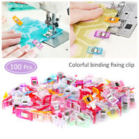 US Mixed Magic Sewing Clips for Fabric Crafts Quilting Sewing Knitting Crochet