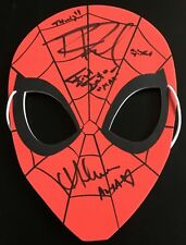 Spider-Man Animated Series cast signed auto autographed 2017 Comic-Con SDCC mask