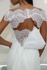 Ines Di Santo Lace Wedding Bridal Bolero Shrug