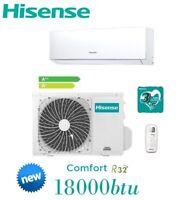 Acondicionador de Aire/Inversor Climatizador 18000BTU Hisense New Comfort -