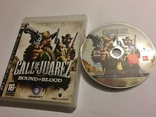 PLAYSTATION 3 PS3 GAME +BOX CALL OF JUAREZ BOUND IN BLOOD PAL DISC EXCELLENT GWO
