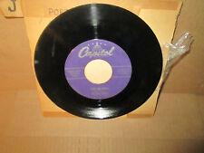 NELSON RIDDLE - PORT AU PRINCE / MIDNIGHT BLUES rare 45 rpm Capitol VG+