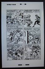 Original Production Art FANTASTIC FOUR #28, page #8, JACK KIRBY art
