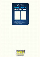 Filofax Refillable NOTEBOOK Refill - A5 Size - Dotted Journal White 152016
