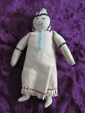 Sweet Old Inuit Beaded Doll