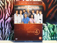 COFFRET DVD d'occasion TBE -  Série TV URGENCES Intégralité de la saison 4