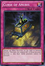 3X Curse of Anubis - Common - LDK2-ENJ40 - NM-  Yugioh Legendary Decks 2