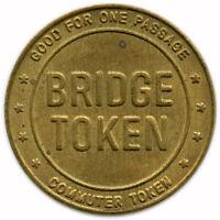 Delaware River Toll Bridge Delaware River Bridges, Pennsylvania PA Transit Token