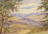 May Mackenzie - Late 19th Century Watercolour, From Brae House