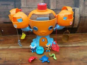 Octonauts Octopod Playset with Figures and Accessories Complete w/ Octo Alert