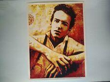 Shepard Fairey / OBEY - Joe Strummer - Screen Print - 2014 - Art Print -Official