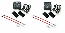 (2) Snow Plow TOUCH PAD CONTROLLERS w/ Blade Markers Meyer Diamond  E47 E60 E57