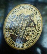 Vintage Couroc Plate Napa Original Wine Country California Inglenook Winery