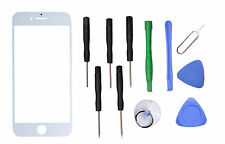 "White Front Outer Screen Glass Lens Replacement Parts for Apple 4.7"" iPhone 7"