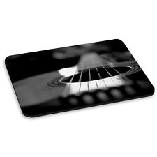 Guitarra Acústica Cuerdas Negro y Blanco Musica Pc Computadora