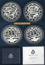 Coffret San Marino - Olimpiadi di Atene 5 euro + 10 euro 2003 Argent