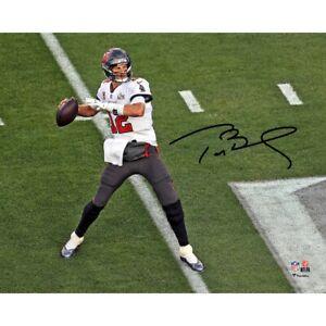 8x10 Tom Brady Facsimile Autographed Picture Super Bowl LV