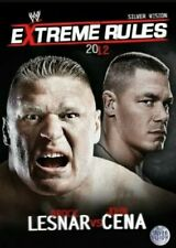 WWE EXTREME RULES 2012 DVD NEW AND SEALED ALL REGIONS BBFC 15 SILVER VISION WWF