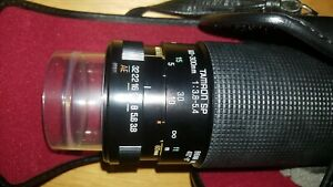 Tamron SP 60-300mm f3.8-5.4 Telephoto Macro Zoom lens with CASE+STRAP+HOOD