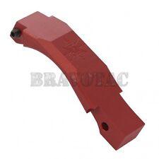 Seekins Precision Billet Trigger Guard Red Aluminum Drop-In Large 5.56/223/308