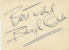Impressionist BERYL ORDE Autograph