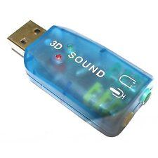 Dynamode USB-SOUNDCARD2.0 USB Sound Card 2.0 Adaptor