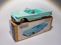 Ford Thunderbird Bleu au 1/43 de norev  / conception comme dinky toys solido cij