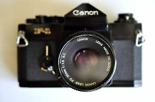 Canon F1 with 50mm F1.8 lens