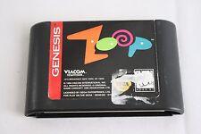 Zoop (Sega Genesis, 1995) game only