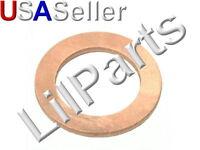 Copper Oil Drain Plug Gasket Seal Flat Washer M18mm ID x 24mm OD Toyota