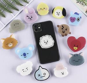 Phone Holder Finger Cartoon Korean for Kids
