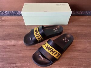 Off White Industrial Slides Sz 11