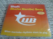 "Shaft ""(Mucho Mambo) Sway (Remixes)"" UK CD Single (1999) Ft. Skeewiff"