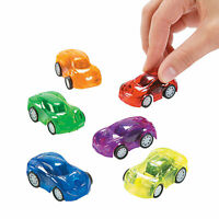 Transparent Pullback Cars - Toys - 12 Pieces