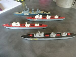 vintage original Matchbox Sea Kings Seakings collection (Lot 1) warships diecast