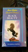 Hanna Barbera Storybook Classics 1978 BLACK BEAUTY VHS *RARE*