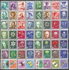 PRO JUVENTUTE 1938 - 1963 postfrisch