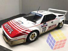 Coche Rally BMW M1 Motul - 1982 - B. Darniche / A. Mahe - Tour De Corse - (1/18)