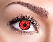 Red Monster 3 mesi le lente a contatto NUOVO-ACCESSORI ACCESSORIO CARNEVALE