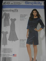 Dresses Misses size 10-18 Simplicity 1249 Sewing Pattern