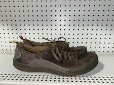 Cushe Rowdy Mens Leather Lace Up Casual Walking Shoes Sneakers Size 12 Brown