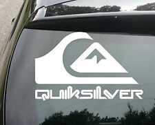 LARGE Quik silver Funny Car/Window JDM VW DUB DRIFT Vinyl Decal Sticker quick