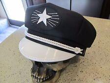 VINTAGE STARBURST BIKER ROCKABILLY CRUSHER STYLE HAT CAP!!  WHY PAY MORE?