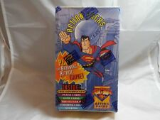 SUPERMAN ACTION PACKS TRADING CARDS SEALED BOX OF 48 PACKS