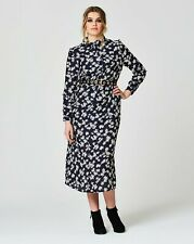 Simply Be pretty ruffle shirt   dress uk plus size 14  brand new in the pkt