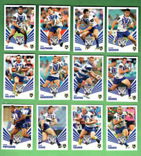 2012 NEWSPAPER  RUGBY LEAGUE 3D  CARDS - CANTERBURY BULLDOGS