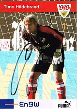 Timo Hildebrand Hand Signed Autograph 4x6 Photo  Football  Germany  Stuttgart