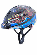 BELL Kinder Fahrradhelm Splash 10 Black/blue Pirates
