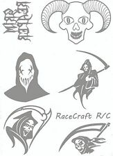 Paint Mask For Lexan Body- Reaper - 1/10 1/12 1/8 HPI Axial Traxxas Hudy VBC CRC