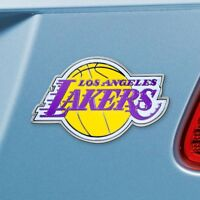 Los Angeles Lakers Heavy Duty Metal 3-D Color Auto Emblem